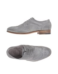 N.D.C. Made By Hand Footwear Lace Up Shoes Women Grey