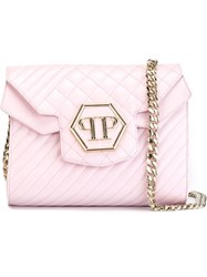 Philipp Plein 'Grill' Crossbody Bag Pink And Purple