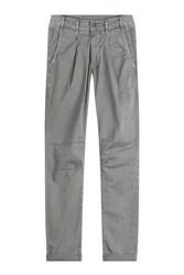 Ag Adriano Goldschmied Stretch Cotton Roman Pants Gr. 34
