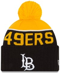 New Era Long Beach State 49Ers Sport Knit Hat Black