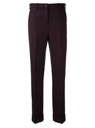 Jacquemus Classic Trousers Red