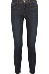 Frame Le High Skinny Jeans Dark Denim