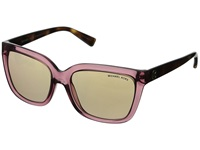 Michael Kors Sandestin Rose Transparent Tortoise Fashion Sunglasses Pink