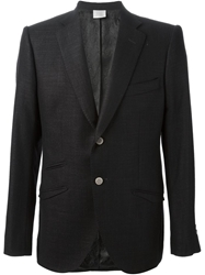 Maurizio Miri Two Button Jacket Black