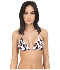 Paul Smith Print Classic Triangle Top Leopard Women's Swimwear Animal Print