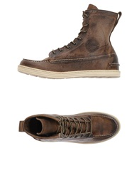 Preventi Sneakers Dark Brown