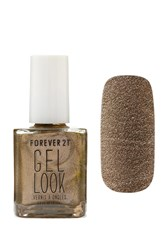 Forever 21 Bronze Gel Look Nail Polish