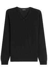 Baldessarini Virgin Wool Pullover Black