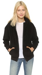 Atm Anthony Thomas Melillo Sherpa Hoodie Black