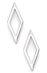 Bony Levy Open Diamond Shape Stud Earrings Nordstrom Exclusive White Gold