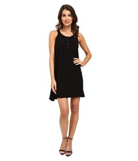Splendid Rayon Voile Dress Black Women's Dress