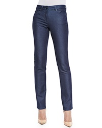 Escada Sparkle Slim Leg Classic Jeans Denim