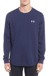 Under Armour Men's Waffle Knit T Shirt Midnight Navy
