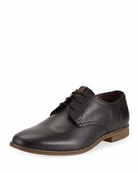 Ben Sherman Gabe Leather Lace Up Oxford Black