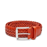 Andersons Anderson's Woven Leather Belt Tan
