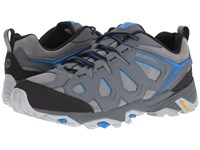 Merrell Moab Fst Leather Turbulence Men's Shoes Gray