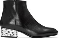 Mcq By Alexander Mcqueen Black Shacklewell Boots