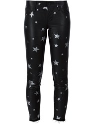 Rta 'Prince' Leather Pants Black