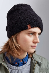Bickley Mitchell X Uo Fleece Lined Sherpa Beanie Black