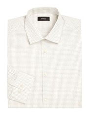 Theory Slim Fit Dress Shirt White