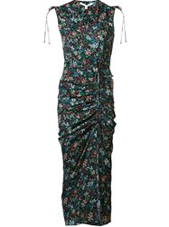 Veronica Beard 'Teagan' Floral Dress Black