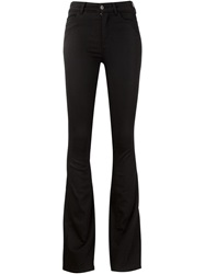 Mih Jeans Flared Jeans Black