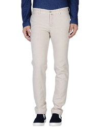 Icon Trousers Casual Trousers Men Ivory
