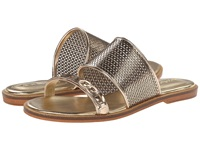 Enzo Angiolini Jioni Gold Synthetic Women's Slide Shoes