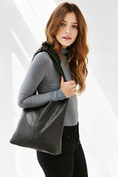 Silence And Noise Silence Noise Leather Knot Shopper Tote Bag Black