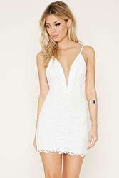 Forever 21 Crochet Bodycon Dress