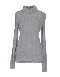 Brebis Noir Knitwear Turtlenecks Women Grey