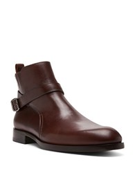 Donald J Pliner Zaccaro Leather Boots Brown