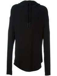 Lost And Found Ria Dunn Hooded Top Black