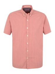 Racing Green Cologne Short Sleeve Shirt Coral