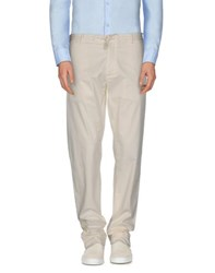 Armani Collezioni Trousers Casual Trousers Men Ivory