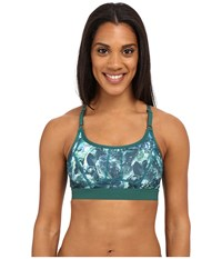 Lole Alpine Bra Green Tropic Moving Sand Women's Bra Blue