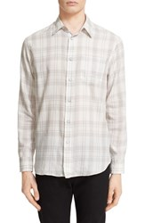 Rag And Bone Men's Rag And Bone 'Beach' Trim Fit Plaid Sport Shirt