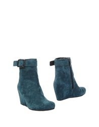 Pons Quintana Ankle Boots Deep Jade