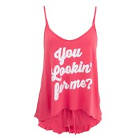 Wildfox Couture Wildfox Women's You Looking For Me Cami Set Red