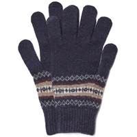 Howlin' Cobra Fair Isle Glove Navy Mix