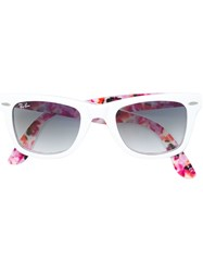 Ray Ban Special Series 'Wayfarer' Sunglasses White