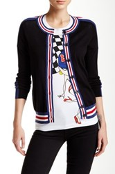 Love Moschino Button Up Cardigan Black