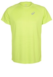Asics Liteshow Sports Shirt Neon Lime Green