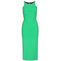 Roland Mouret Abersley Crepe Dress Kelly Green