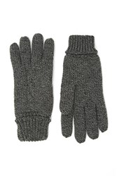 Forever 21 Men Marled Cable Knit Gloves