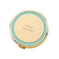 Kate Spade Holly Drive Compact Let Your Hair Down Turquoise