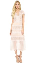 Catherine Deane Flora Dress Blusher Almond