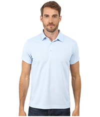 Ministry Of Supply Apollo Polo Light Blue Men's Short Sleeve Pullover