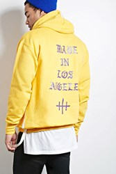Forever 21 Sdc Made In La Graphic Hoodie