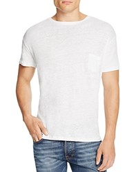 Rails Garrett Pocket Tee White